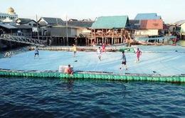 Niềm đam mê bóng đá của người dân làng chài Thái Lan