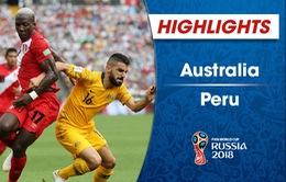 HIGHLIGHTS: ĐT Australia 0-2 ĐT Peru (Bảng C FIFA World Cup™ 2018)
