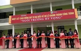 Khánh thành trường học cho trẻ em nghèo ở Thái Nguyên