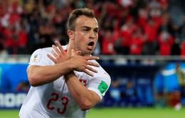 Hai cầu thủ quan trọng nhất ĐT Thụy Sĩ thoát án treo giò của FIFA