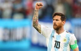 Đội hình tiêu biểu FIFA World Cup™ 2018 ngày 26/6: Lần đầu cho Messi