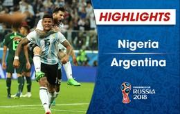 HIGHLIGHTS: ĐT Nigeria 1-2 ĐT Argentina (Bảng D FIFA World Cup 2018)
