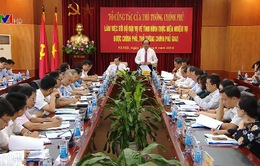 Tổ công tác của Thủ tướng Chính phủ làm việc với Bộ Nội vụ