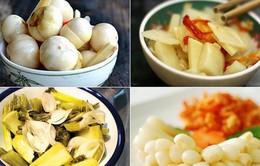 Ung thư dạ dày có liên quan tới thói quen ăn dưa, cà muối