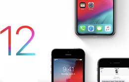 Bản beta của iOS 12 đầu tiên chính thức ra mắt