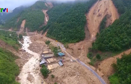 Vẫn chưa tìm được 5 nạn nhân mất tích vụ sạt lở tại Noong Hẻo (Lai Châu)