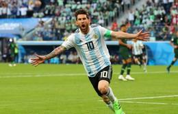 KẾT QUẢ FIFA World Cup™ 2018: Messi ghi bàn, Argentina nghẹt thở vượt qua Nigeria để vào vòng 16 đội