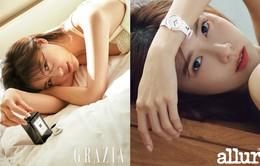 Ha Ji Won và YoonA khoe sắc trên tạp chí