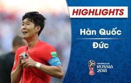 HIGHLIGHTS: ĐT Hàn Quốc 2–0 ĐT Đức (Bảng F FIFA World Cup™ 2018)