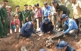 Bàn giao hài cốt quân tình nguyện Việt Nam tại Campuchia