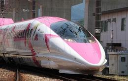 Khai trương đoàn tàu Hello Kitty tại Nhật Bản