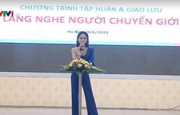 Hơn 100 người chuyển giới tham gia giao lưu tại Hà Nội