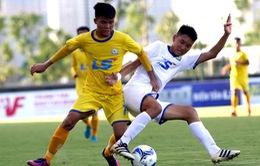 Kết quả VCK giải Bóng đá U17 Quốc gia - Cúp Thái Sơn Nam 2018, ngày 28/6: SLNA và Viettel giành quyền tham dự bán kết