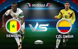 Thông tin đáng chú ý trước trận đấu ĐT Senegal - ĐT Colombia (21h00 ngày 28/6, VTV2)