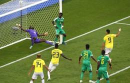 KẾT QUẢ FIFA World Cup™ 2018, ĐT Senegal 0-1 ĐT Colombia: Chiến thắng tối thiểu