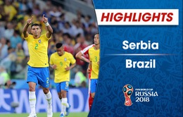 HIGHLIGHTS: ĐT Serbia 0-2 ĐT Brazil (Bảng E FIFA World Cup™ 2018)