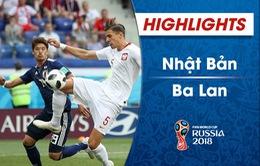 HIGHLIGHTS: Nhật Bản 0-1 Ba Lan (Bảng H FIFA World Cup™ 2018)