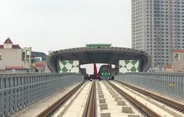Tháng 8 chạy thử tàu tuyến Cát Linh - Hà Đông, Hà Nội