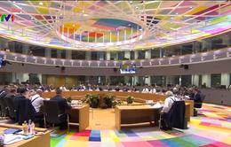 Căng thẳng Hội nghị thượng đỉnh châu Âu về tị nạn
