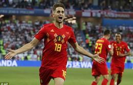KẾT QUẢ FIFA World Cup™ 2018, Anh 0-1 Bỉ: Januzaj lập công, ĐT Bỉ giành ngôi nhất bảng G