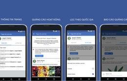 Facebook tăng cường tính minh bạch cho quảng cáo và các trang
