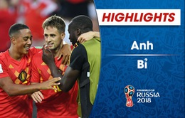 HIGHLIGHTS: Anh 0-1 Bỉ (Bảng G FIFA World Cup™ 2018)