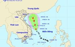 Áp thấp nhiệt đới cách quần đảo Hoàng Sa 220km về phía Nam, có khả năng mạnh lên thành bão