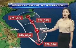 Áp thấp nhiệt đới mạnh lên thành bão, gây mưa rất to cho các tỉnh phía Nam
