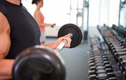Cảnh báo nguy hiểm nếu tập gym quá nặng