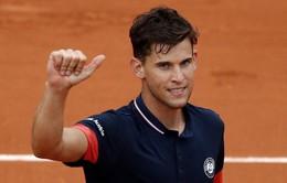 Vượt qua Nishikori, Dominic Thiem hẹn Zverev tại tứ kết Pháp mở rộng 2018