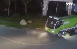 Xe quét rác không người lái tại Trung Quốc