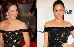 """Kate Middleton và Meghan Markle """"đụng hàng"""" trang phục: Ai đẹp hơn ai?"""