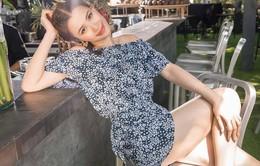 Mặc trang phục hè đơn giản nhưng vẫn xinh như ca sĩ Đông Nhi