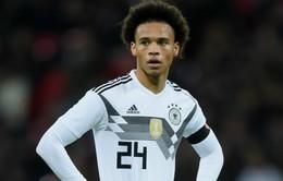 ĐT Đức công bố danh sách dự World Cup 2018: Sane bị loại