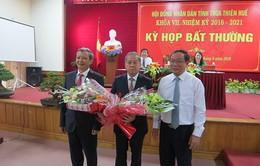Ông Phan Ngọc Thọ được bầu làm Phó Bí thư Tỉnh ủy, Chủ tịch UBND tỉnh Thừa Thiên - Huế