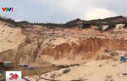 Bình Thuận: Người dân bức xúc trước nạn khai thác titan