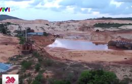 Bình Thuận: Nước ngầm bị cạn bởi nạn khai thác titan