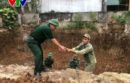 Quảng Trị: Phát hiện hầm đạn pháo sót lại sau chiến tranh
