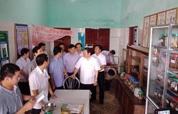 Kiểm tra, giám sát thực trạng y tế xã điểm tại Hà Tĩnh