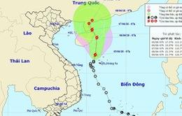 Áp thấp nhiệt đới mạnh lên thành bão số 2
