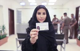 Phụ nữ Arab Saudi lần đầu được cấp bằng lái xe