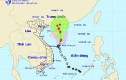 Áp thấp nhiệt đới đã mạnh lên thành bão số 2; lũ quét, sạt lở đất ở vùng núi phía Bắc