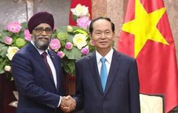 Việt Nam muốn tăng cường hơn nữa quan hệ với Canada