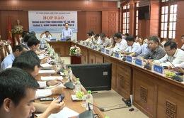 Quảng Nam họp báo 5 tháng đầu năm 2018: Kinh tế xã hội chuyển biến tích cực