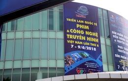 Gấp rút hoàn thiện không gian triển lãm Telefilm 2018 trước ngày khai mạc