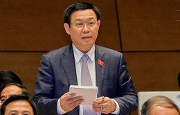 TRỰC TIẾP: Phó Thủ tướng Vương Đình Huệ trả lời chất vấn
