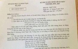 Sở GD&ĐT Hà Nội họp báo về nghi vấn lộ đề thi môn Ngữ văn lớp 10 ở Hà Nội