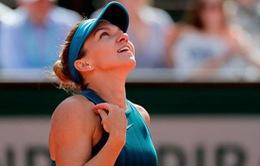 Đơn nữ Pháp mở rộng 2018: Simona Halep giành vé đầu tiên vào chung kết