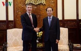 Chủ tịch nước tiếp Đại sứ Vương quốc Anh và Bắc Ireland