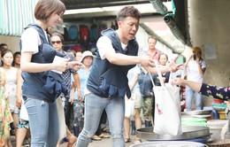 Khi đàn ông mang bầu: Trấn Thành - Hari xin từng món khi đi chợ